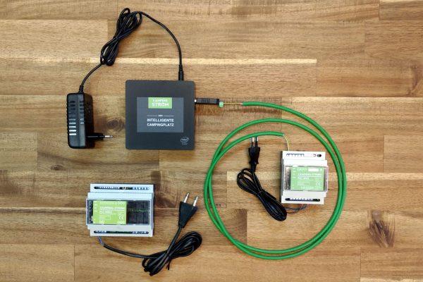 Camping-Strom Test Kit 1